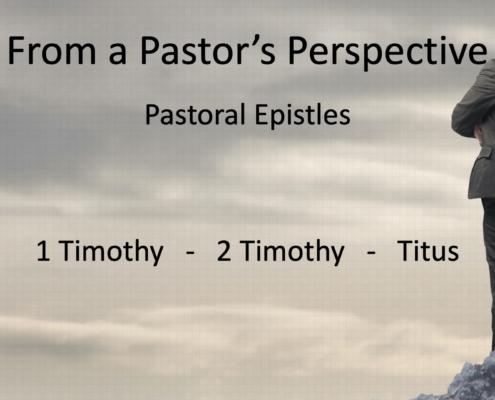 a pastors perspective